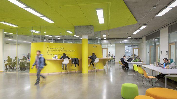 Karl Miller Center by SRG Partnership and Behnisch Architekten