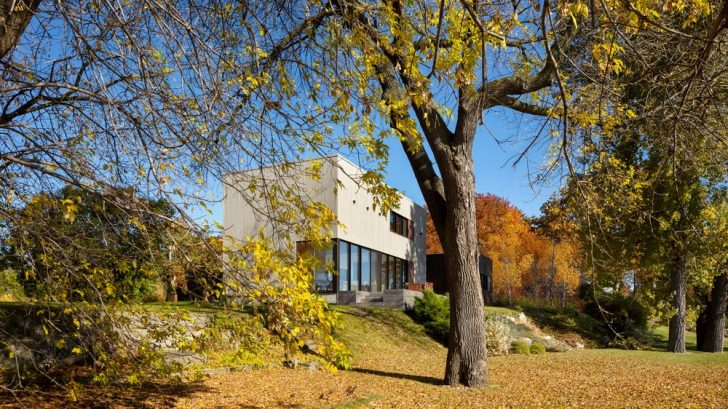 Residence St-Ignace by Nathalie Thibodeau Architecte