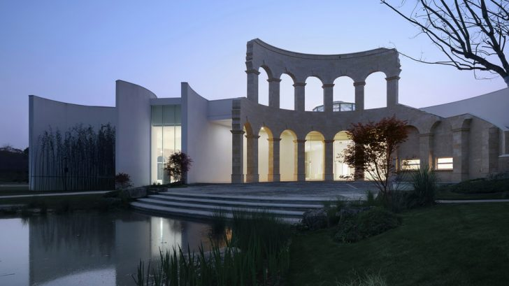 Sino-Italian Cultural Exchange City Reception Center by aoe