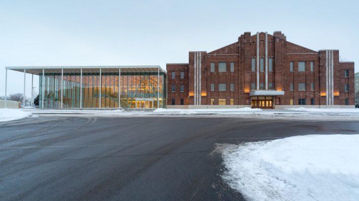 Verdun auditorium by FABG architects