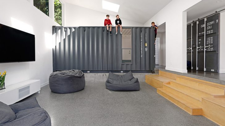 Wyss Container House by Paul Michael Davis Architects