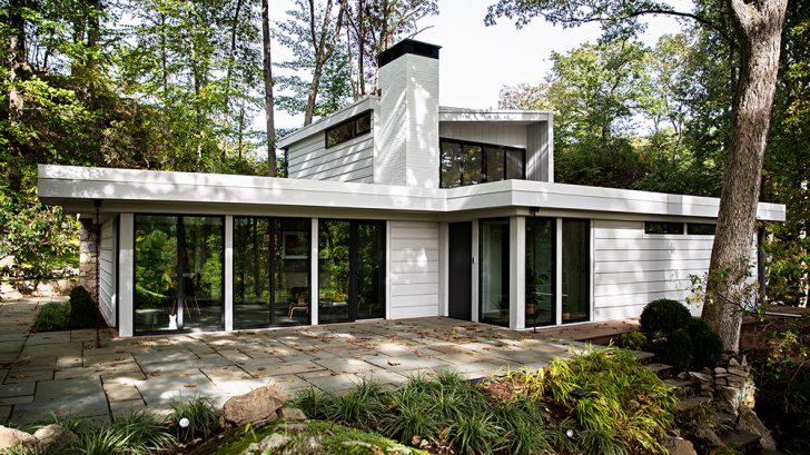 Connecticut Mid-Century Modern by Lichten Architects