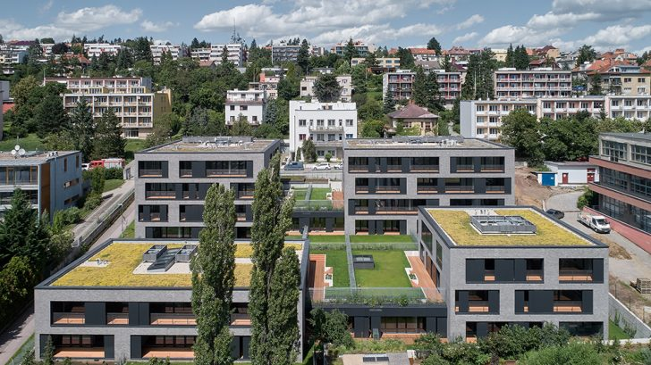 our Houses in One by Kuba & Pilař architekti