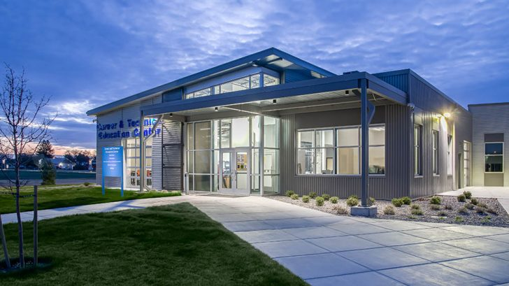 Treasure Valley Community College Career & Technical Education Center by Cushing Terrell