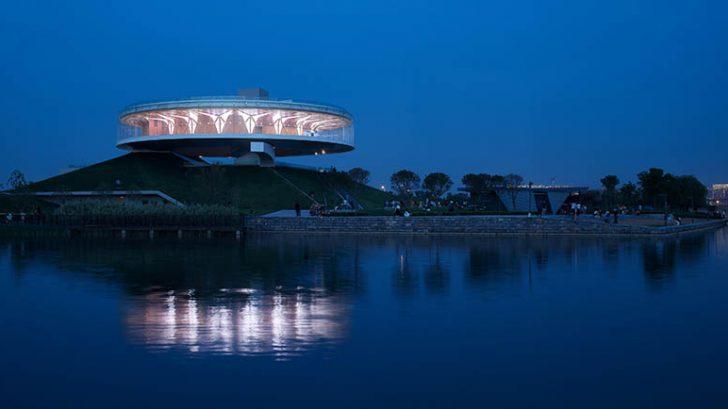 City Crown - Dragon Lake Public Art Center by Studio A+