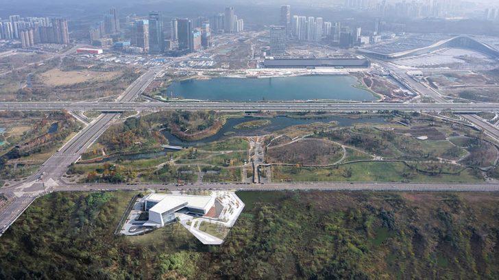 Chengdu Merchants Urban Planning Exhibition Hall by AAI-Monster Lab