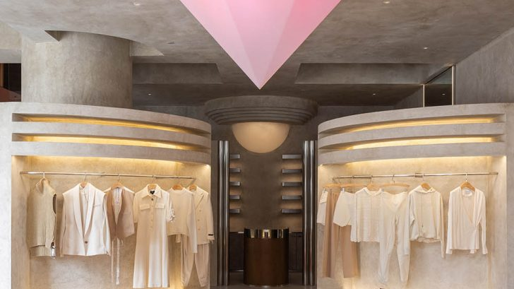Discover the stunning AUDREY Boutique designed by Liang Architecture Studio