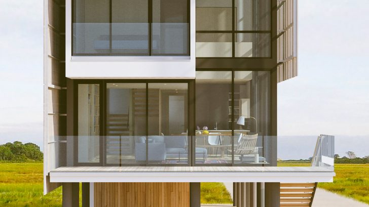 Take a Tour of The Salt Box Residence designed by Parnagian Architects