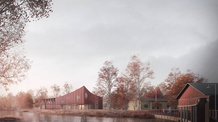 Discover the Brädgården Art Works Project designed by Reiulf Ramstad Arkitekter