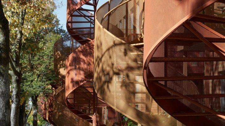 Les Habitations Saint-Michel Nord by Saia Barbarese Topouzanov Architectes