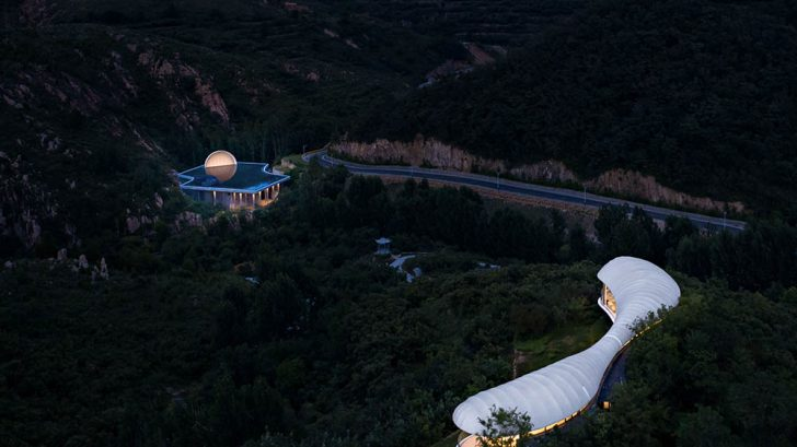 The Hometown Moon - Discover the Ti'an Ceremony Hall designed by SYN Architects
