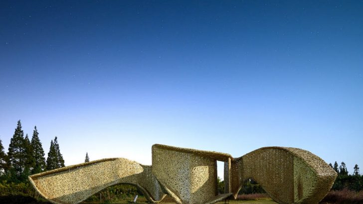 Discover the Bamboo Pavilion designed by LIN architecture